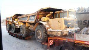 Перевозка крупногабаритных грузов автомобильным транспортом