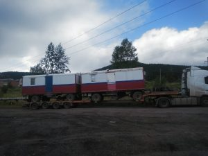 перевозка вагон дома