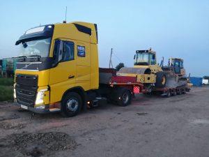 перевозка дорожной спецтехники